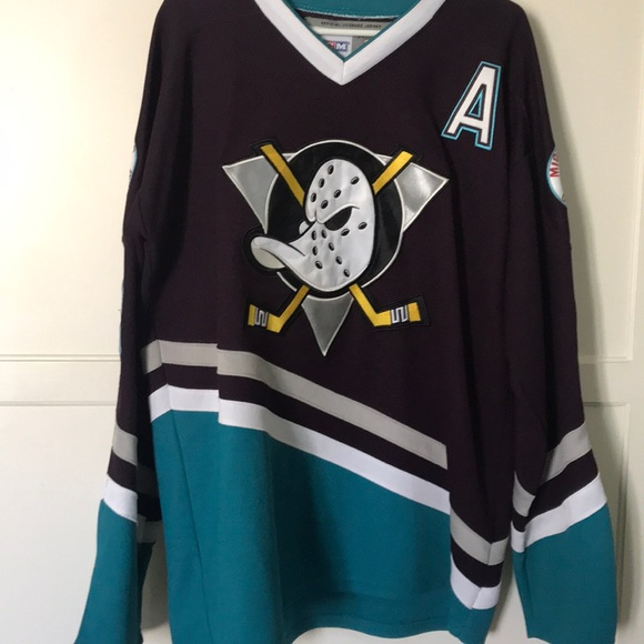 timeless design 8414c f7b0e VINTAGE OFFICIAL MIGHTY DUCKS SELANNE JERSEY